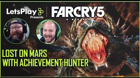 Far Cry 5 Squishing Space Crabs- Lost On Mars With Achievement Hunter Let's Play Presents Ubisoft
