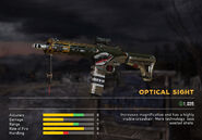 Fc5 weapon arcshark scopes optical