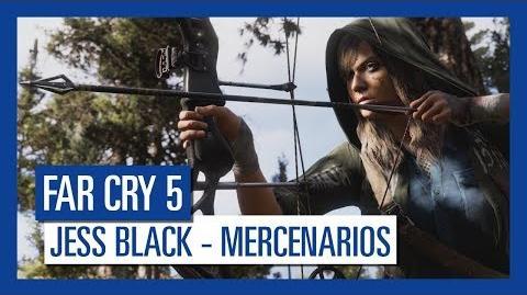 Far Cry 5 Jess Black – Mercenarios Personaje destacado