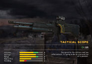 Fc5 weapon m60 scopes tactical