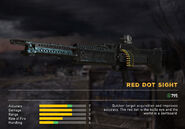 Fc5 weapon m60v scopes reddot