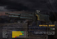 Fc5 weapon m60 scopes optical