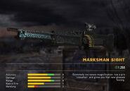 Fc5 weapon m60v scopes marksman