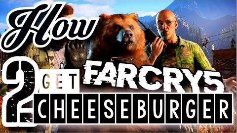 How to Get Cheeseburger - Far Cry 5 - Diabetic Bear For Hire