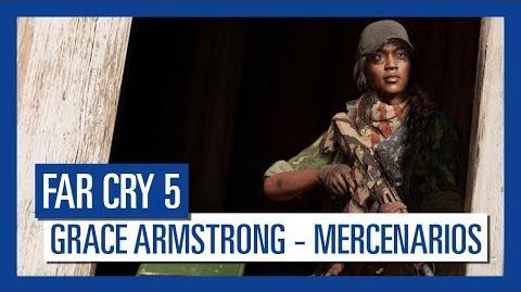 Far Cry 5 Grace Armstrong – Mercenarios Personaje destacado