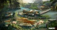 Concept Art Fishermans Village