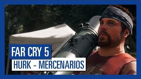 Far Cry 5 Hurk – Mercenarios Personaje destacado