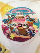 Scrumptious cake for 50th episode at Farm Heroes HQ
