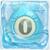 Water bomb 0 under ice