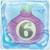 Onion bomb 6 under ice