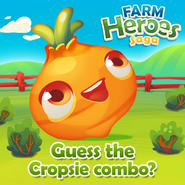 Carrot Guess Cropsie combo!