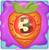 Carrot bomb 3 on slime