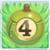 Apple bomb 4 on grass