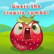Strawberry Guess Cropsie combo!