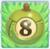 Apple bomb 8 on grass