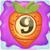 Carrot bomb 9 on slime
