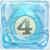 Water bomb 4 under ice