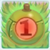 Apple bomb 1 on grass