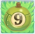 Apple bomb 9 on grass