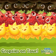 Cropsies on Tour Germany