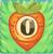 Carrot bomb 0 on grass