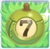Apple bomb 7 on grass