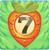 Carrot bomb 7 on grass