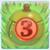 Apple bomb 3 on grass