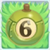 Apple bomb 6 on grass