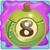 Apple bomb 8 on slime