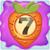 Carrot bomb 7 on slime