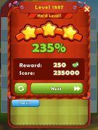 Level 1887 HLevel won 3-stars