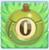Apple bomb 0 on grass