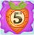 Carrot bomb 5 on slime