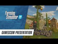 Gameplay presentation of Farming Simulator 22 (gamescom)