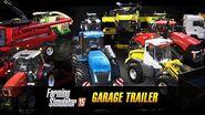 Farming Simulator 15 Consoles Garage Trailer