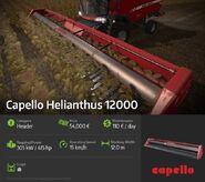 Capello Helianthus 12000