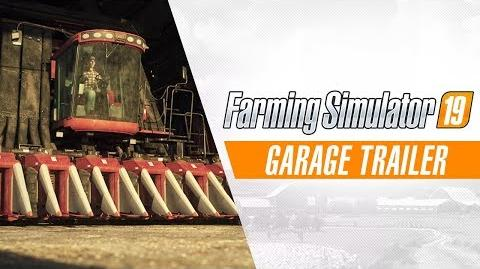 Farming Simulator 19 - Garage Trailer