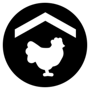 FS19 Icon ChickenCoop Black