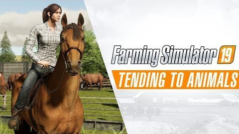 Farming Simulator 19 - Tending to Animals Gameplay Trailer