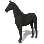 FS19 Animal-HorseBlack.png