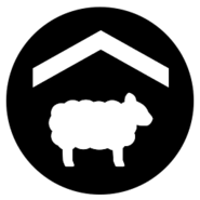 FS19 Icon SheepPasture Black