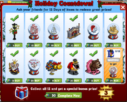 Holiday Countdown Inside
