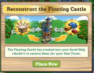 Floating Castle Pop Up