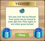 Whimsy ice house