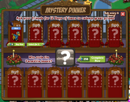 Mystery Dinner Countdown Day 1