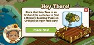 Hawaiian Paradise Orchard Pop Up Message