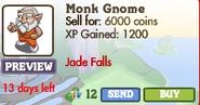 Monk Gnome Market Info (June 2012)