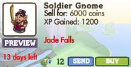 Soldier Gnome Market Info (June 2012)