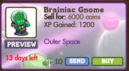 Brainiac Gnome Market Info (July 2012)